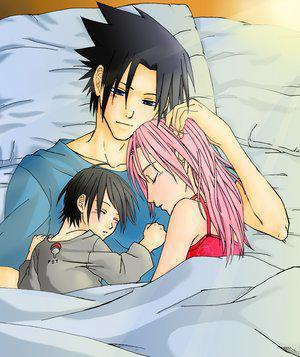 Nos jeunes Héros dans le lit avec leur petit Bébé ! Fi0m5a4p